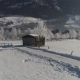 Shed on Snowy Field - VideoHive Item for Sale