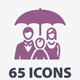 Insurance Icons - Colored Series - GraphicRiver Item for Sale