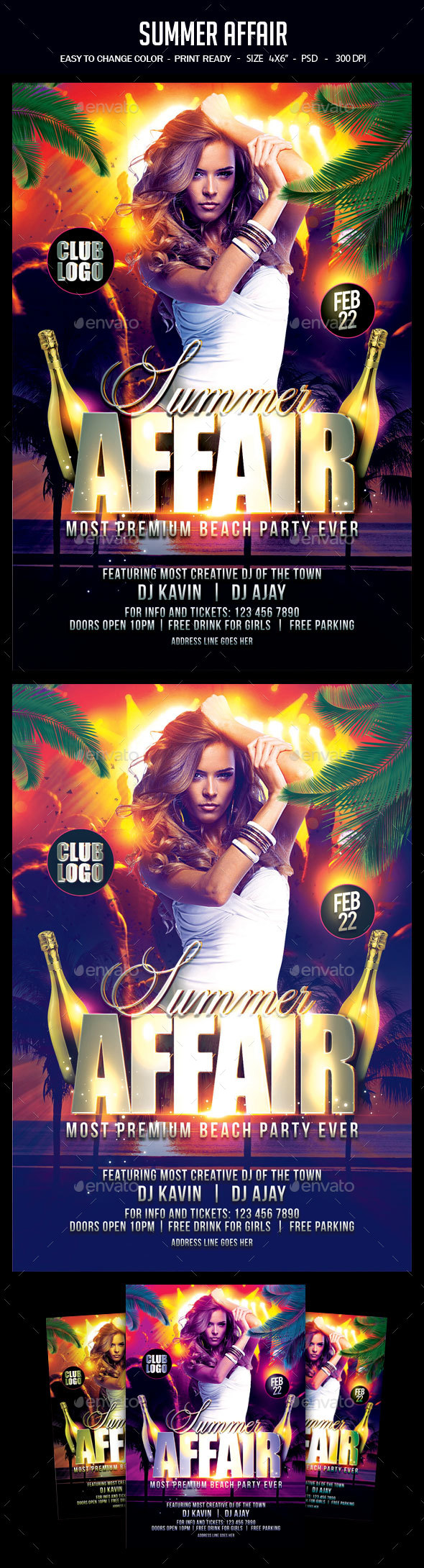 Summer Affair - Clubs & Parties Events