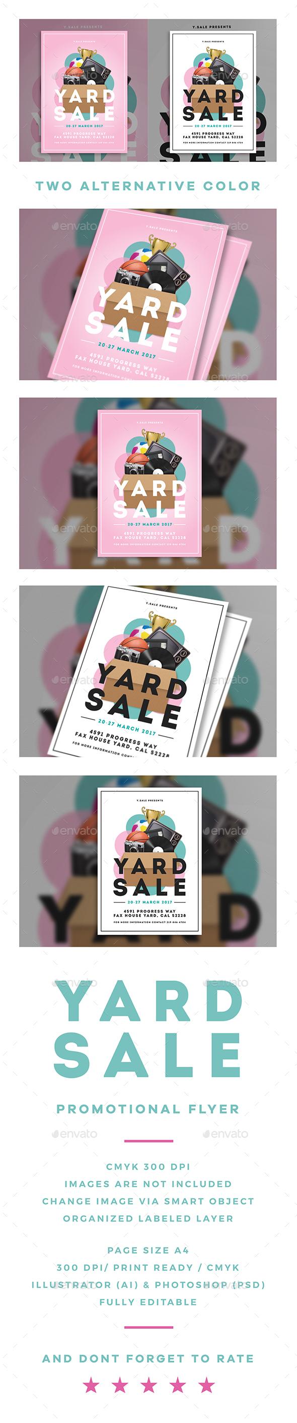 Garage Sale Flyer - Commerce Flyers