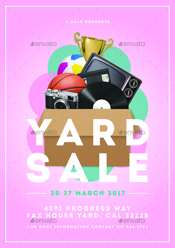 Garage Sale Flyer by dannyaldana | GraphicRiver