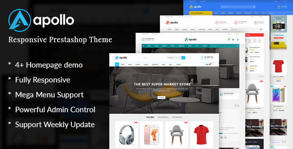 Image of JMS Apollo - Responsive Prestashop 1.6 and 1.7 Theme
