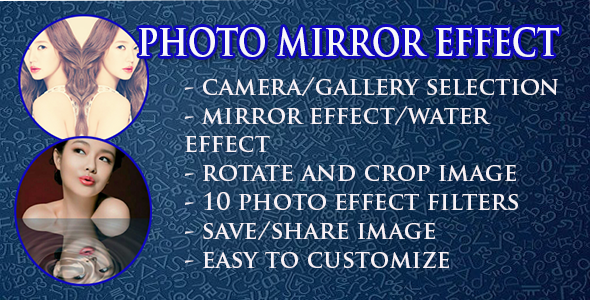 Photo Mirror Effect - CodeCanyon Item for Sale