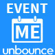 EventMe - Corporate Event Landing Unbounce Theme - ThemeForest Item for Sale