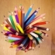 Mug with Bright Pencils Turns. - VideoHive Item for Sale
