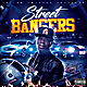 Street Bangers Mixtape CD Cover Template - GraphicRiver Item for Sale