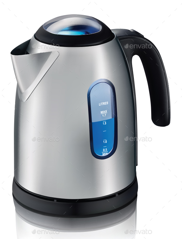 Electric Kettle - Man-made Objects Objects