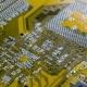 PC Electronic Circuit Board .