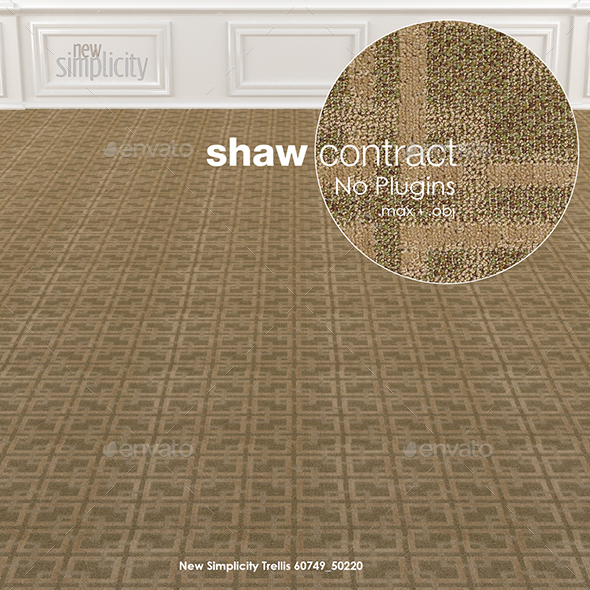 Shaw Contract Carpet New Simplicity No 1 - 3DOcean Item for Sale