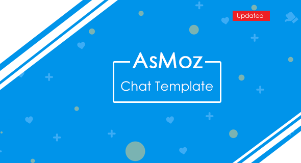 AsMoz Chat Template (Front-End Design) - CodeCanyon Item for Sale