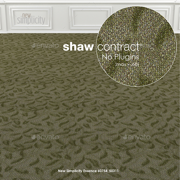 Shaw Contract Carpet New Simplicity No 2 - 3DOcean Item for Sale