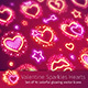 Valentine Hearts with Sparkles - GraphicRiver Item for Sale