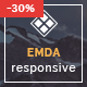 EMDA Muse responsive templates - ThemeForest Item for Sale