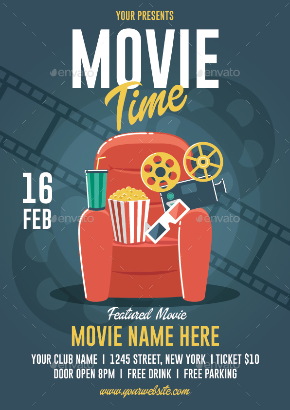 Movie Time Flyer