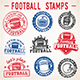 Vector Grunge Football Logos - GraphicRiver Item for Sale