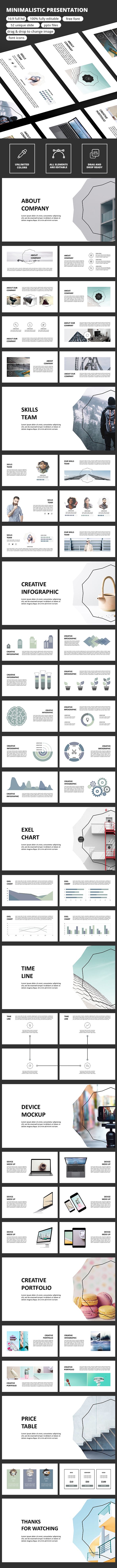 Minimalistic - PowerPoint Presentation - Business PowerPoint Templates