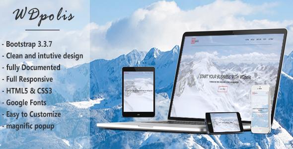 WDpolis - Personal Portfolio Template - Personal Site Templates