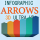 3D Infographics Arrows - VideoHive Item for Sale
