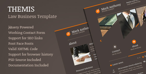 Themis – Law Business Template