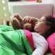 Little Girl with Teddy Bear Sleeping at Home 40