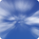 High Speed Cloud Journey - Blue & Transparent BG - VideoHive Item for Sale