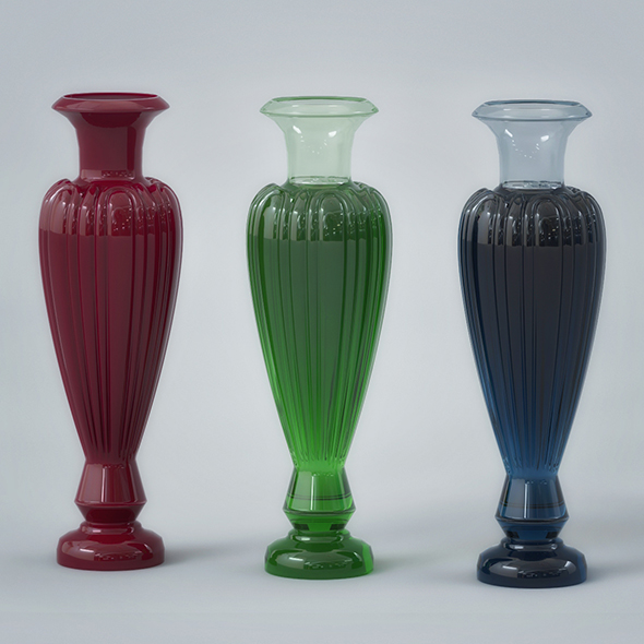 Glass Vase - 3DOcean Item for Sale