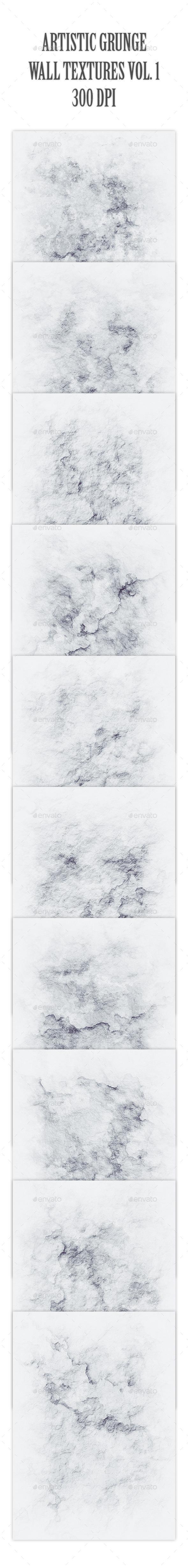 Artistic Grunge Wall Textures Vol. 1 - Industrial / Grunge Textures