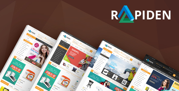 Rapiden - Mega Shop eCommerce Template - Shopping Retail