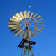 Australian Windmill Under the Moon - VideoHive Item for Sale
