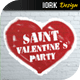 Saint Valentine`s Day Party - GraphicRiver Item for Sale