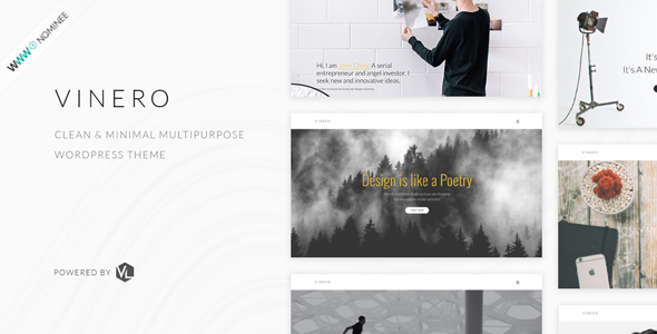 Vinero – Creative MultiPurpose WordPress Theme