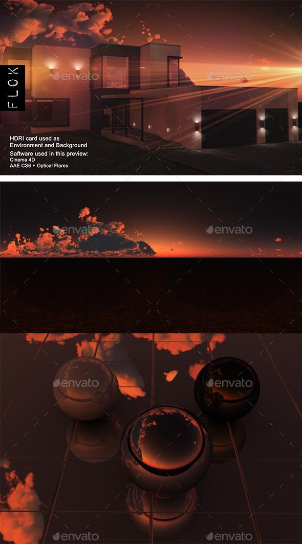 Sunset Desert 90 - 3DOcean Item for Sale