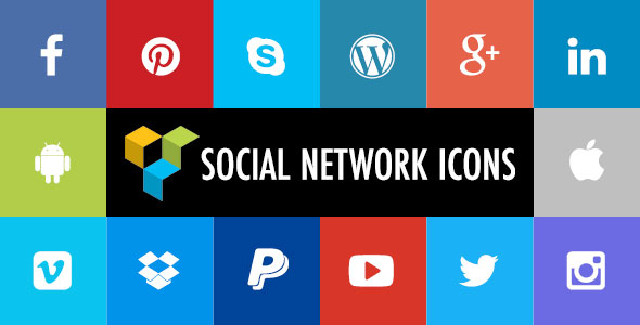 Social Network Icons for Visual Composer - CodeCanyon Item for Sale