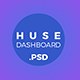 Huse Dashboard Admin Panel UI Kit