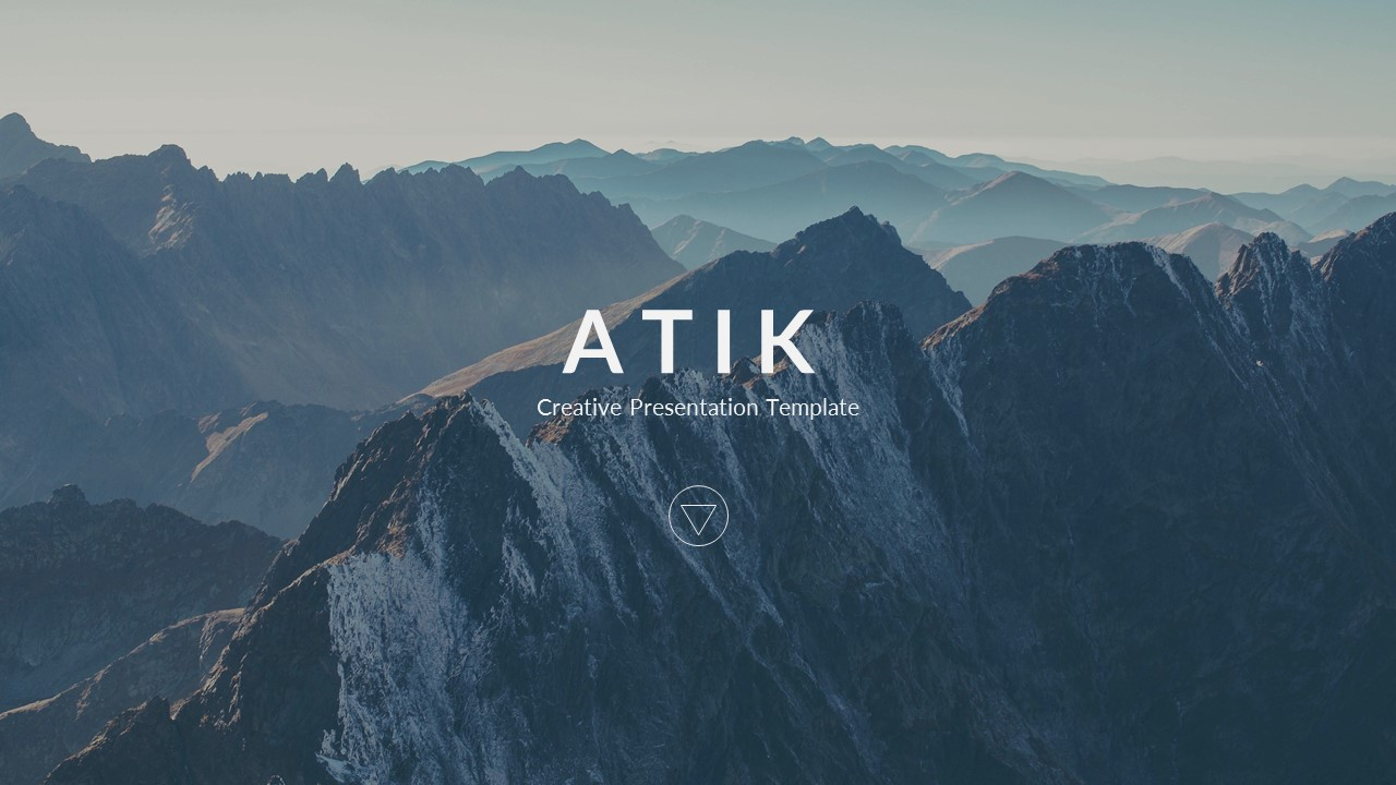 Atik creative powerpoint template by bluestack graphicriver preview image setslide1 toneelgroepblik Gallery