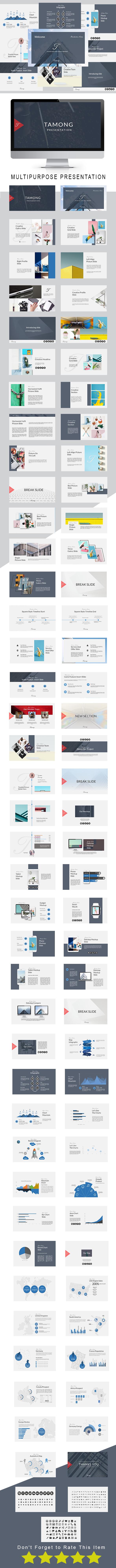 Tamong Multipurpose Keynote Template - Keynote Templates Presentation Templates