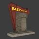 Motel Sign - 3DOcean Item for Sale