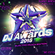 Dj Awards Web Template - GraphicRiver Item for Sale