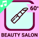 Beauty Salon Icons and Elements
