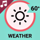 Weather Forecast Icons and Elements