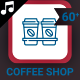 Coffee Shop Icons and Elements - VideoHive Item for Sale