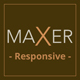 MAXER - Creative Multi-Purpose Muse Template - ThemeForest Item for Sale