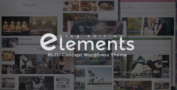 Elements – Excellence in Blogging