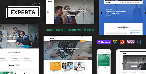 Experts Business - Professional Theme for Finance Firms - Business Corporate