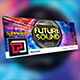 Future Sound Facebook Cover Template - GraphicRiver Item for Sale