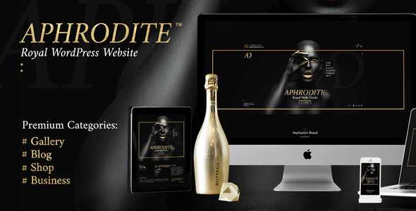 Aphrodite — Royal Website Style