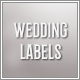Wedding Labels - VideoHive Item for Sale