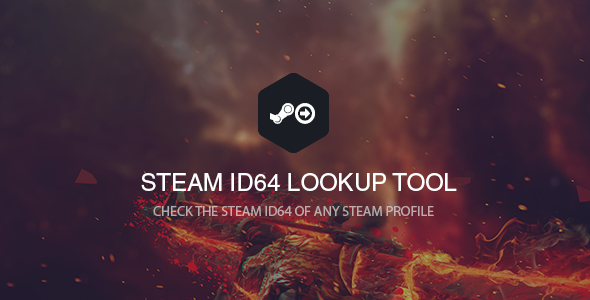 Steam ID64 Lookup Tool - CodeCanyon Item for Sale