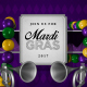 Mardi Gras Invitation 4K - VideoHive Item for Sale