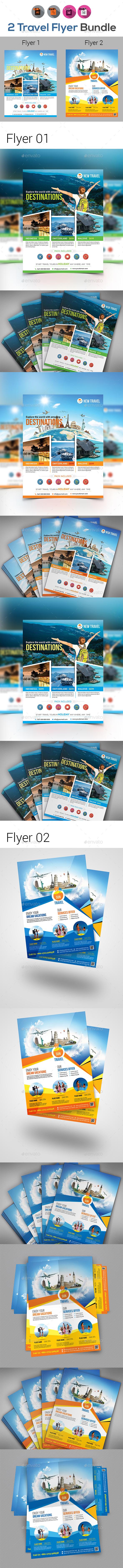 Travel Flyer Bundle - Events Flyers